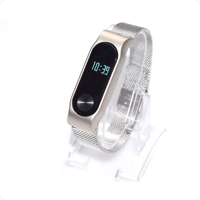 Watchband Milanese Stainless Steel Xiaomi Mi Band 2 (OEM)